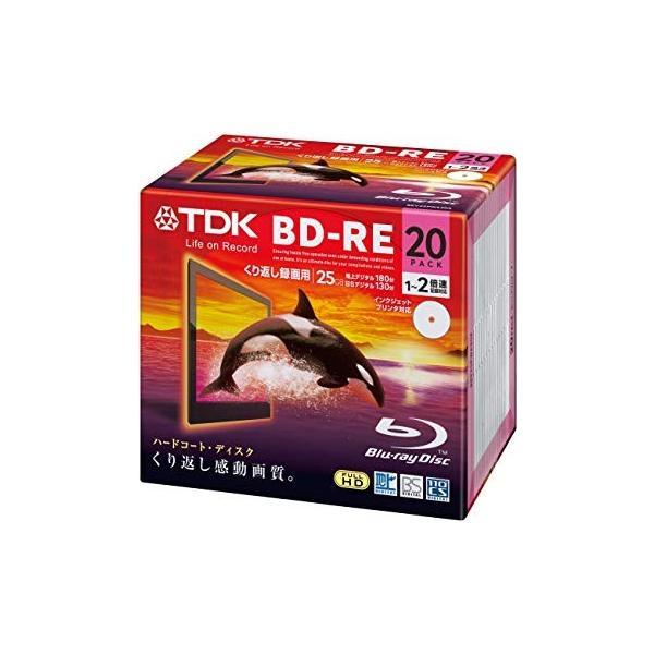 BEV25PWA20A BD-RE 2倍速 20枚組 TDK (分類:ブルーレイディスク・メディア)|namiba