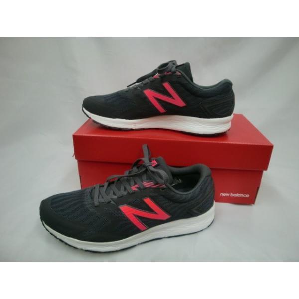 レディースシューズ  NEW BALANCE  WFLSH RM2 ブラック/ピンク