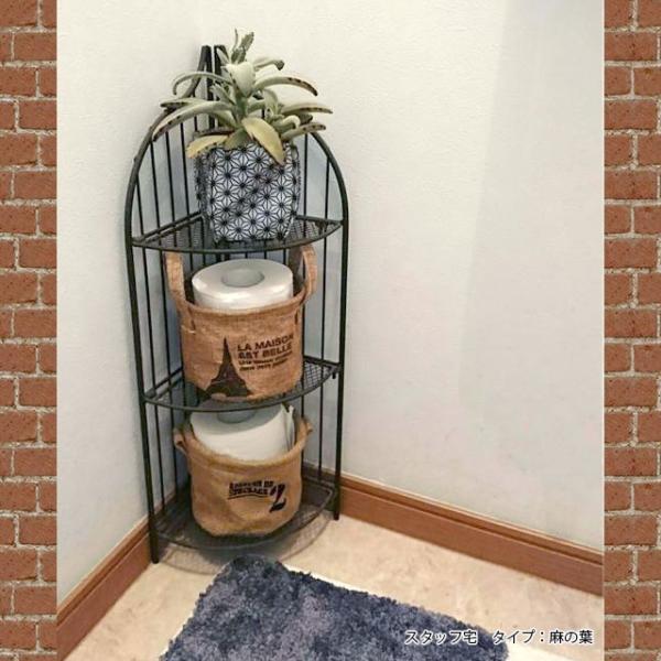 鉢カバー ガーデニング 園芸用雑貨 uchi-green 麻の葉|namustore|08