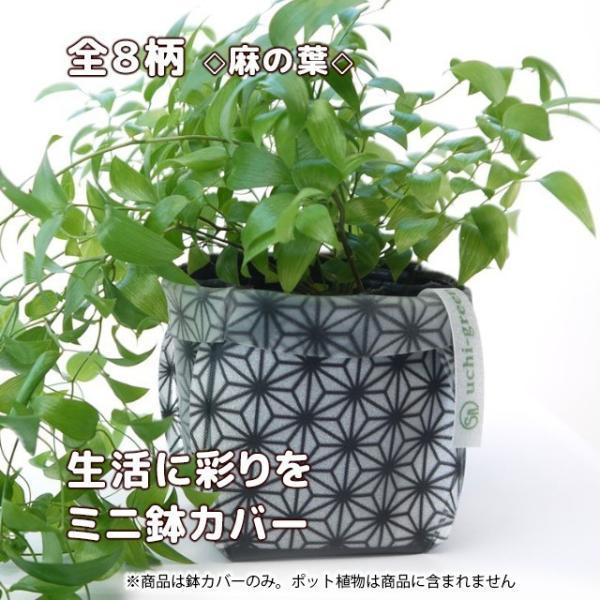 おしゃれな鉢カバー ガーデニング  プチギフト uchi-green 全8柄|namustore|12