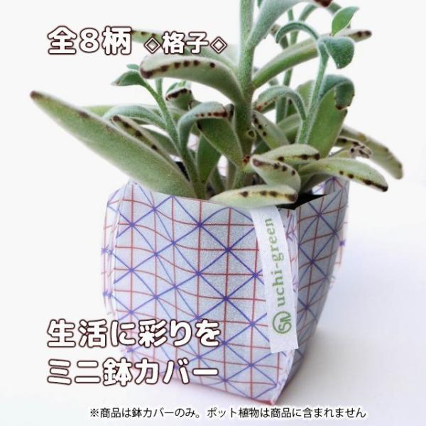 おしゃれな鉢カバー ガーデニング  プチギフト uchi-green 全8柄|namustore|15