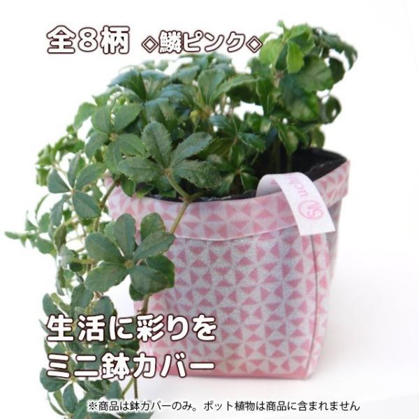 おしゃれな鉢カバー ガーデニング  プチギフト uchi-green 全8柄|namustore|09