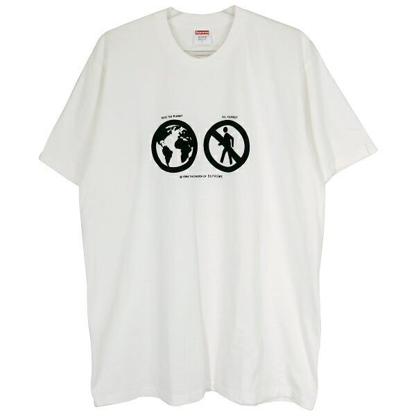 SUPREME シュプリーム 19A/W Save The Planet Tシャツ