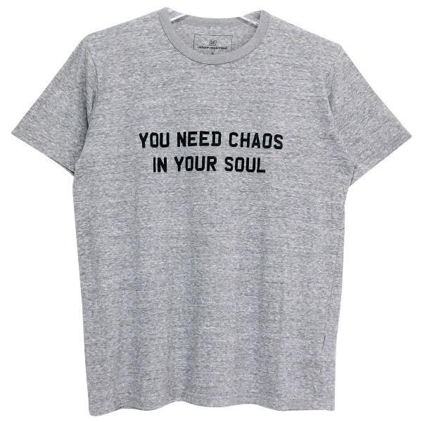 uniform experiment ユニフォームエクスペリメント YOU NEED CHAOS Tシャツ UE-134086|nanainternational