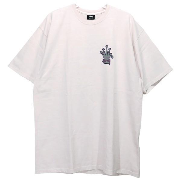 STUSSY ステューシー CROWNED PIGMENT DYED Tシャツ nanainternational 02
