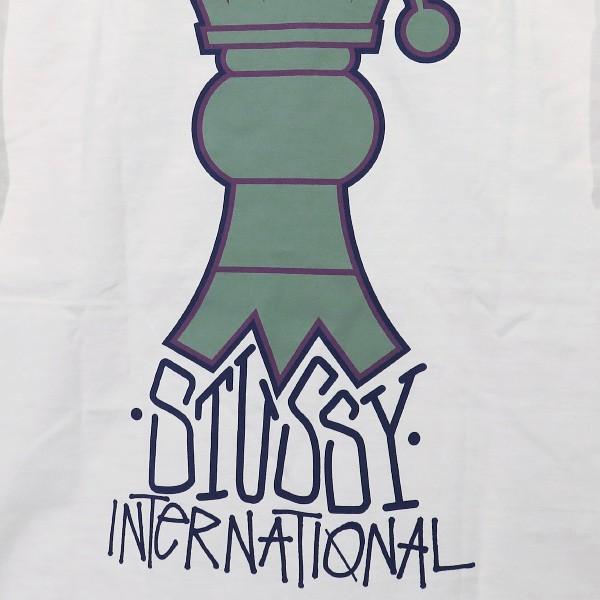 STUSSY ステューシー CROWNED PIGMENT DYED Tシャツ nanainternational 04