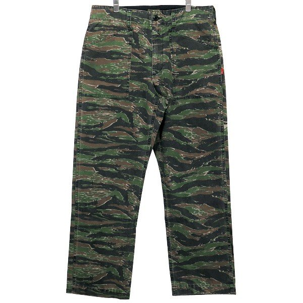 WTAPS ダブルタップス 17SS BUDS/TROUSERS.COTTON.TWILL.TIGER STRIPE 171GWDT-PTM01S  バッツ トラウザー タイガー ストライプ|nanainternational