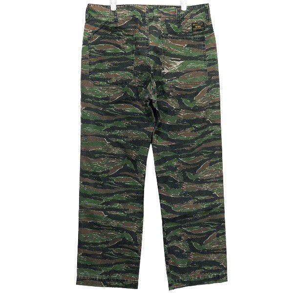 WTAPS ダブルタップス 17SS BUDS/TROUSERS.COTTON.TWILL.TIGER STRIPE 171GWDT-PTM01S  バッツ トラウザー タイガー ストライプ|nanainternational|02
