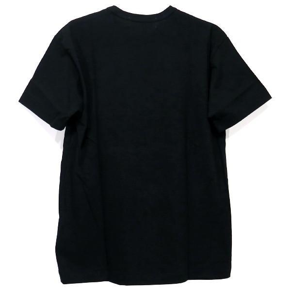 PLAY COMME des GARCONS プレイコムデギャルソン ハートプリント&ワッペンTシャツ AZ-T116-051-1-6|nanainternational|02