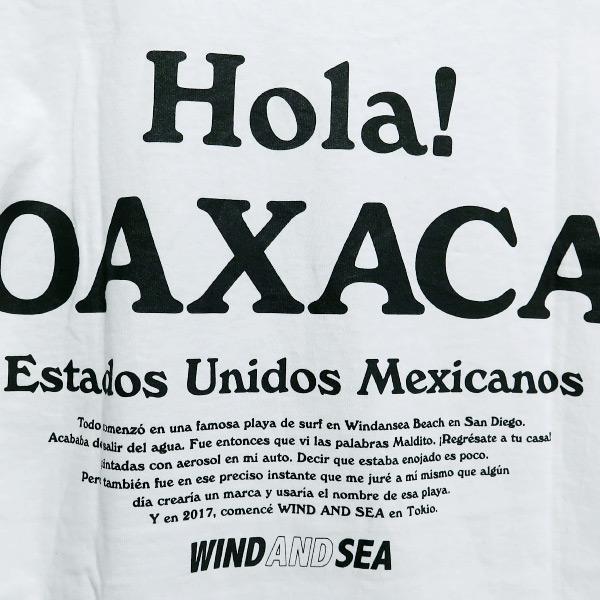 WIND AND SEA  ウィンダンシー OAXACA Tシャツ nanainternational 05