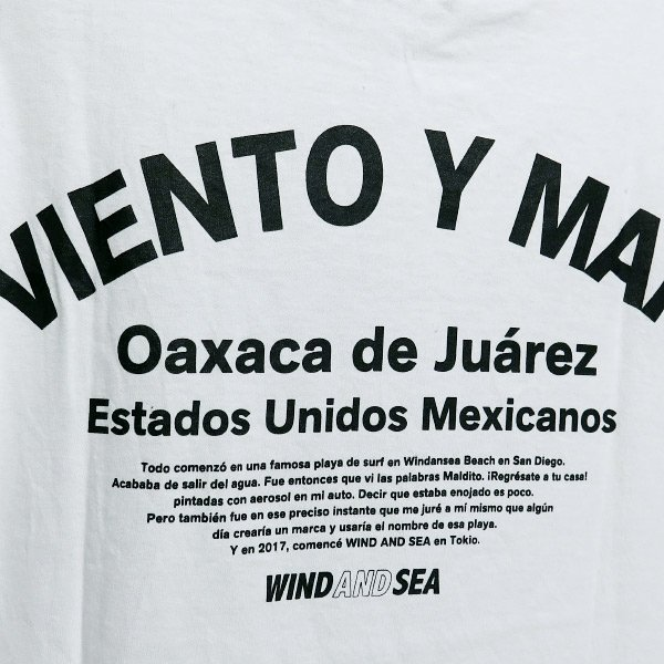 WIND AND SEA  ウィンダンシー VIENTO Y MAR Tシャツ nanainternational 05