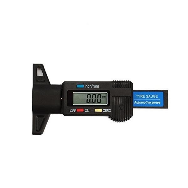 デジタル デプスゲージ タイヤ溝 測定 0-25mm