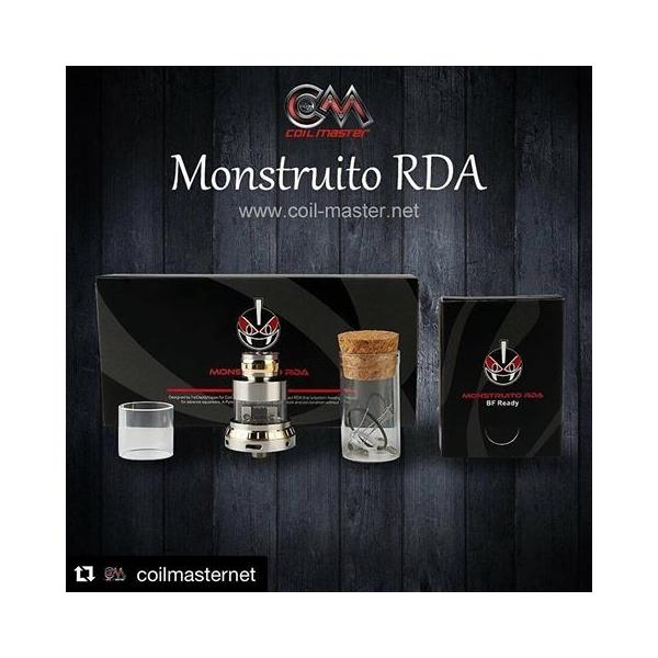 コイルマスター coil master MONSTRUITO RDA vape ドリッパー