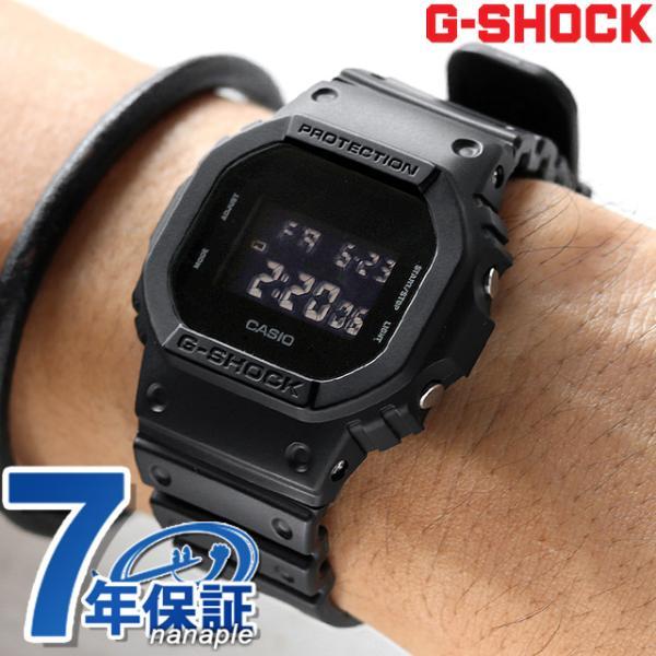 G-SHOCKGショックメンズ腕時計オールブラックDW-5600BB-1DRカシオジーショックG-ショックg-shock