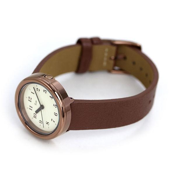 セイコー アルバ リキ レディース 腕時計 革ベルト アラビア数字 AKQK450 SEIKO ALBA Riki アイボリー×ブラウン
