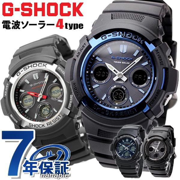 G-SHOCKGショック電波ソーラーAWG-M100電波ソーラーアナデジ腕時計ブラック