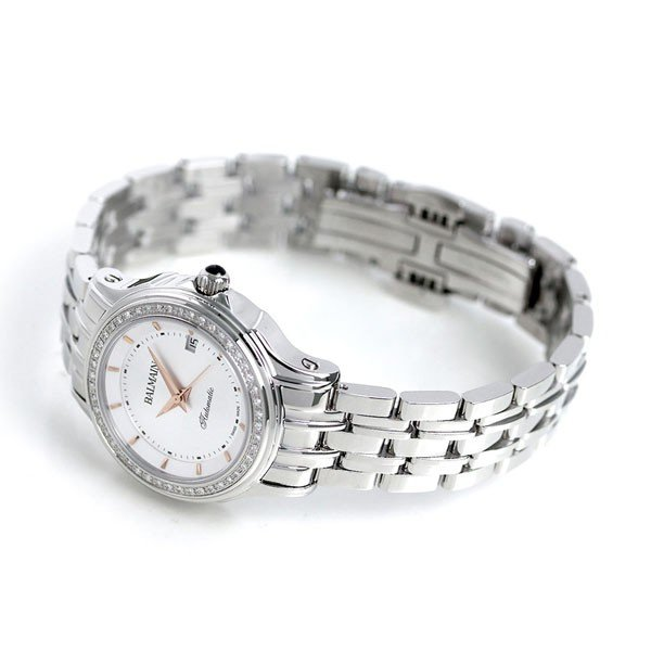 BALMAIN バルマン 時計 スイス製 ダイヤモンド 自動巻き B1875.33.26 レディース 腕時計 シルバー