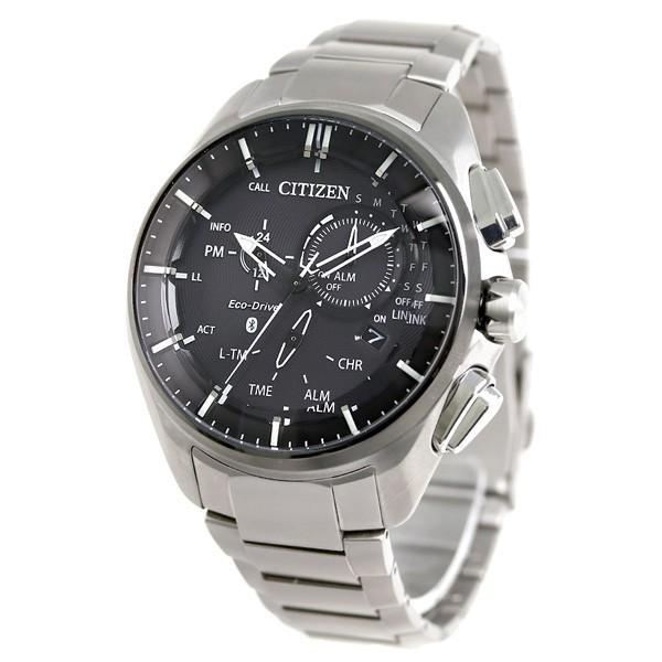 シチズン エコドライブ Bluetooth スマートウォッチ チタン BZ1041-57E CITIZEN 腕時計