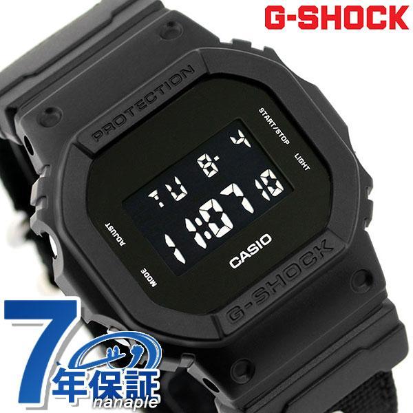 G-SHOCKミリタリーブラックメンズ腕時計DW-5600BBN-1DRGショック