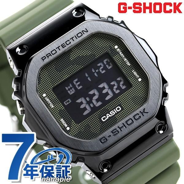 G-SHOCKGショックオリジンカモフラージュメンズ腕時計GM-5600B-3DRCASIOグリーン