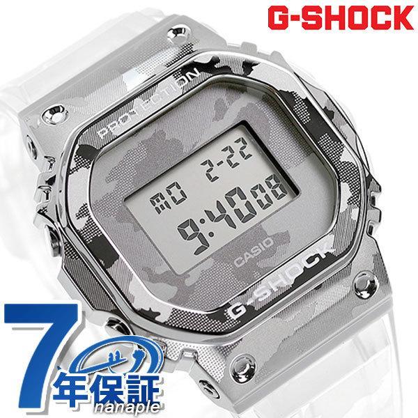 GショックG-SHOCKGM-5600メンズ腕時計GM-5600SCM-1DRカシオCASIOスケルトン