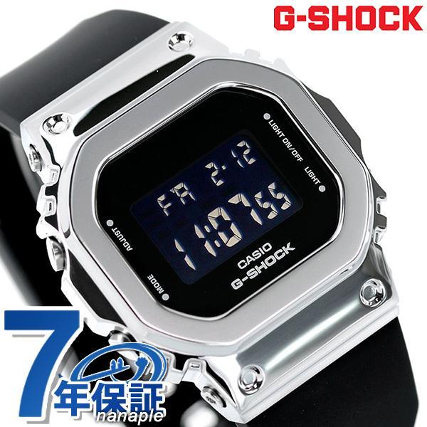 GショックG-SHOCKGM-S5600メンズ腕時計GM-S5600-1DRカシオCASIOオールブラック黒