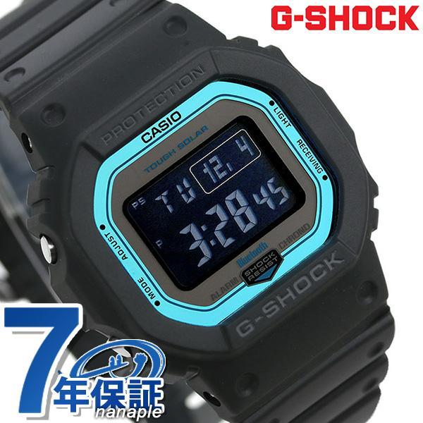 G-SHOCK電波ソーラーGW-B5600デジタルBluetooth腕時計GW-B5600-2ERGショックブラック