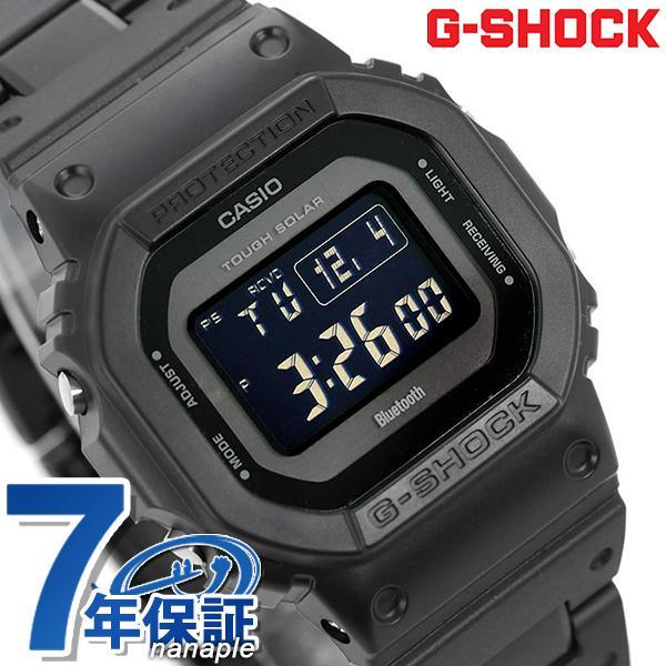 G-SHOCK電波ソーラーGW-B5600デジタルBluetooth腕時計GW-B5600BC-1BERGショックオールブラック