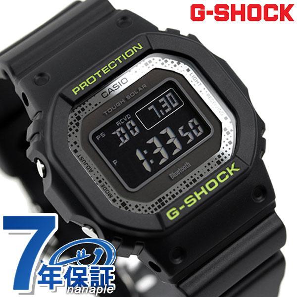 G-SHOCKGショックメンズ腕時計GW-B5600DC-1DRCASIOカシオ時計Bluetoothワールドタイムブラック黒