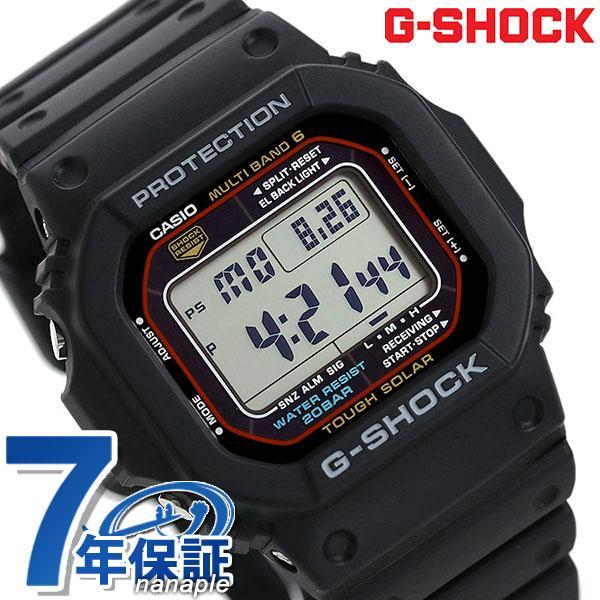 G-SHOCK電波ソーラーCASIOデジタル腕時計GW-M5610-1ERカシオGショックジーショックブラック