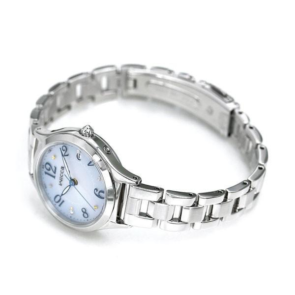 シチズン ウィッカ 電波ソーラー レディース 腕時計 ダイヤモンド KS1-210-91 CITIZEN wicca ブルーグラデーション