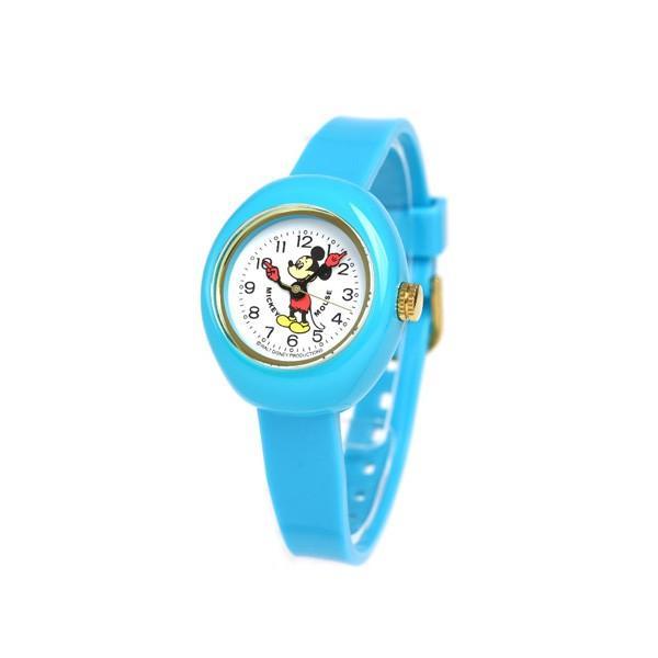 ディズニー ミッキーマウス 30mm クオーツ 腕時計 MPW-BLU