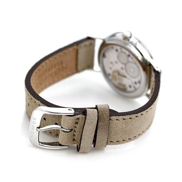 ノモス NOMOS ドイツ製 手巻き 248 ラドウィッグ シャンパーニュ 33mm レディース 腕時計 LD1A2CH233 シャンパーニュ×ベージュ