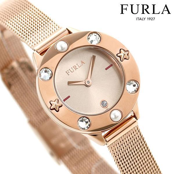 フルラ 時計 クラブ 26mm レディース 腕時計 4253109514 FURLA ピンク×ピンクゴールド