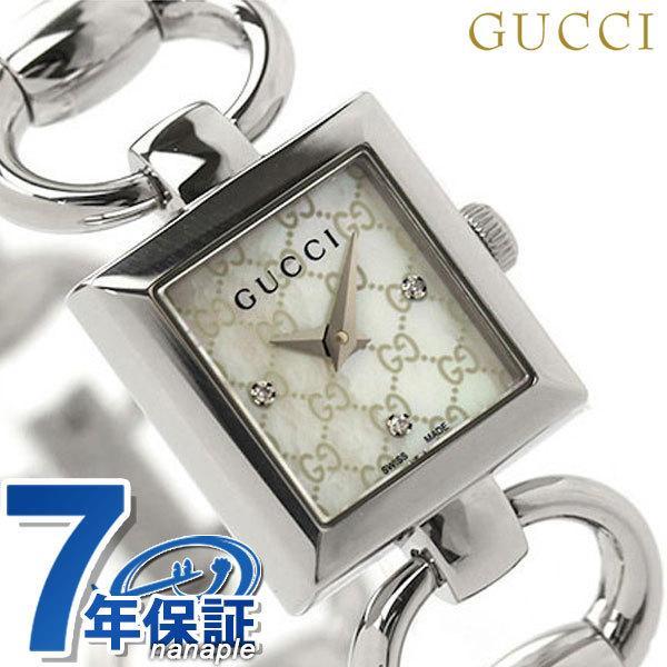 GUCCI グッチ 時計 トルナブォーニ ダイヤモンド レディース YA120517