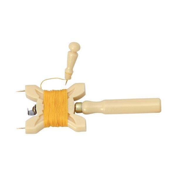 【千吉】ハトメパンチ プラスチック製【凧糸巻セット】