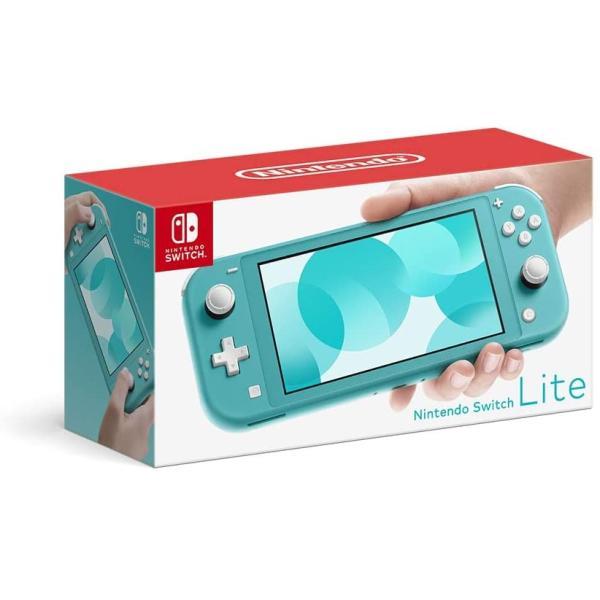 NintendoSwitchLiteスイッチターコイズ本体