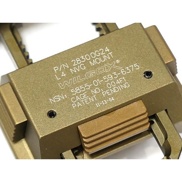 【送料無料】【WILCOXタイプレプリカ】金属製 L4 G24ナイトビジョンマウントレプリカ(GPNVG-18対応)【BOX】 naniwabase 08