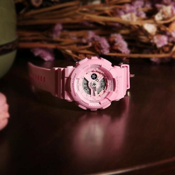 カシオ 腕時計 CASIO BABY-G LADIES WATCH BA-110-4A1 FREE EXPRESS PINK BA-110-4A1DR 2Y