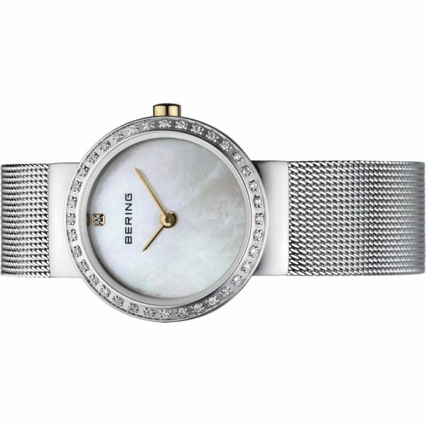 ベーリング 腕時計 Bering Ladies Watch Wristwatch Slim Classic クラシック - 10725-010 Meshband