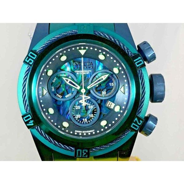 インビクタ 腕時計 Invicta Reserve 53mm Boulon Zeus Suisse クロノグラフe Abalone Dial Bracelet Watch インヴィクタ nankuru 01