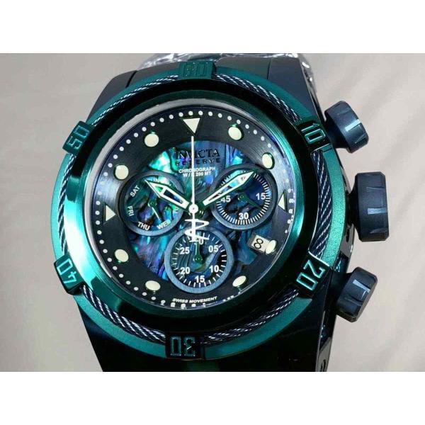インビクタ 腕時計 Invicta Reserve 53mm Boulon Zeus Suisse クロノグラフe Abalone Dial Bracelet Watch インヴィクタ nankuru 03