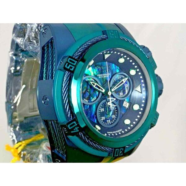 インビクタ 腕時計 Invicta Reserve 53mm Boulon Zeus Suisse クロノグラフe Abalone Dial Bracelet Watch インヴィクタ nankuru 04