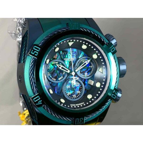 インビクタ 腕時計 Invicta Reserve 53mm Boulon Zeus Suisse クロノグラフe Abalone Dial Bracelet Watch インヴィクタ nankuru 05
