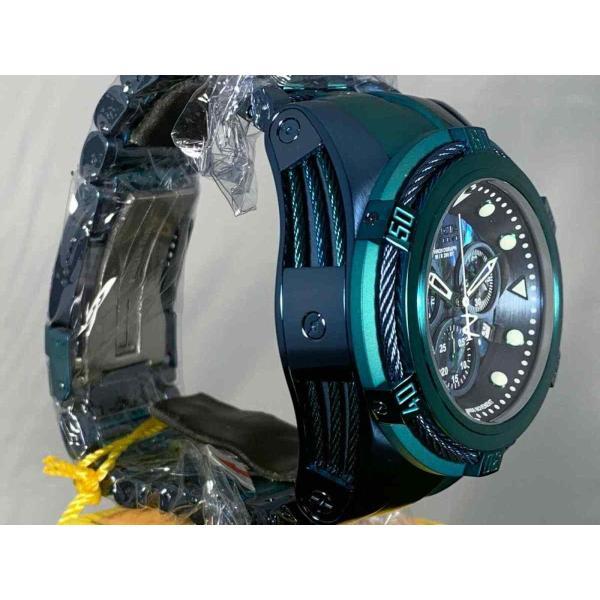 インビクタ 腕時計 Invicta Reserve 53mm Boulon Zeus Suisse クロノグラフe Abalone Dial Bracelet Watch インヴィクタ nankuru 06