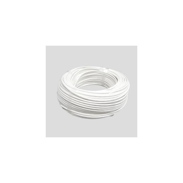 伸興電線 VCTF 信用 ビニルキャブタイヤ丸形コード 税込 0.75SQ 2C 2Cシロ VCTF0.75SQ 100m 100 白
