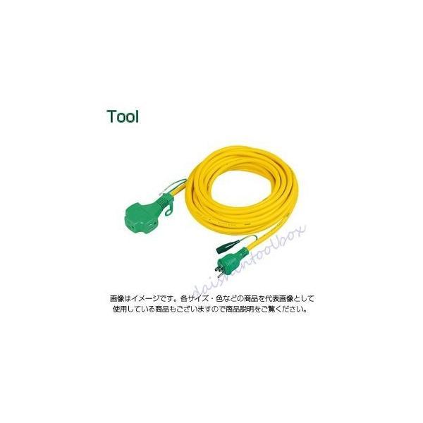 日動 トリプルポッキン延長コード NEW 極太 ランキングTOP5 22A20m PPT-20E-黄