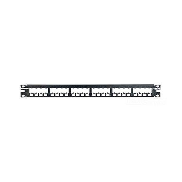 パンドウイット 激安 シールド対応24ポートモジュラーパッチパネル枠 CP24BLY 実物