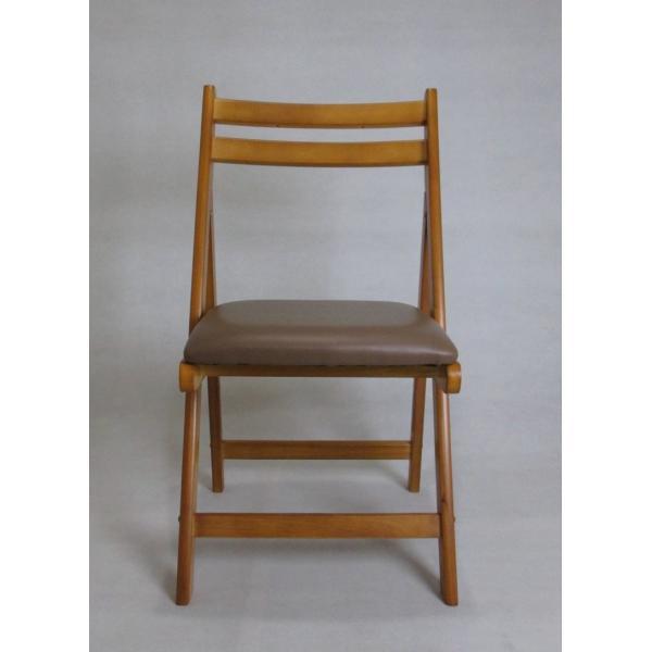 折りたたみチェア 新作 木製椅子 ダイニングチェアー ブラウン オープニング 大放出セール lh-6220 br