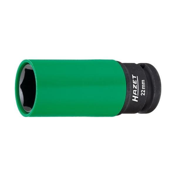お得クーポン発行中 HAZET インパクトソケット 差込角12.5mm 21mm 深型 レビューを書けば送料当店負担 903SLG-22